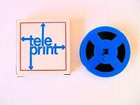 Vintage Original TELEPRINT Reel FILM Camera Used Full Old 60s Film Footage WINE