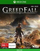 Greedfall XBOX One Role Playing Strategy Game Microsoft XB1 S X