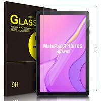 PELLICOLA VETRO TEMPERATO per Huawei MatePad T 10 10s TRASPARENTE CLEAR HD FULL