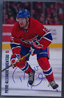 NEW 2014-15 P-A PARENTEAU MONTREAL CANADIENS TEAM ISSUE POST CARD AUTOGRAPHED
