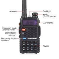 1 PCS Baofeng BF-F8+ V/UHF 136-174/400-520MHz 2-Way Ham FM Radio Walkie Talkie
