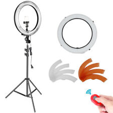 "Neewer 18"" Outer Dimmable Fluorescent Ring Light Lighting Kit with Light Stand"