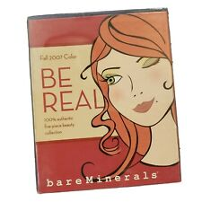 Bare Escentuals BareMinerals ~Be Real~ 5-Pc Collection/Kit* Eyes/Lip/Cheek *Bnib