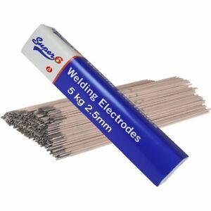 SWP 7401 5kgs 2.5mm Arc Welding Electrode Rods Mild Steel E6013 Quality