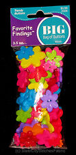 Multi Color Flowers Daisy Petal Craft Buttons Big Bag of Buttons #2006 Flowers