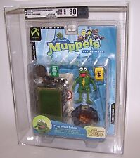 Jim Henson's Muppets Frog Scout Robin Figures Afa 80 Nm Palisades 2003 Series 7
