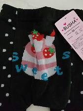 BUSHA Baby Leggings Pants (90cm) (Strawberry Cake Pattern)