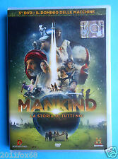 dvds mankind n. 5 la storia di tutti noi il dominio delle macchine nick brown id