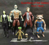 5PCS Guardians of The Galaxy Vol. 2 Toys PVC Action Figure For Kid's Gift 7~18cm