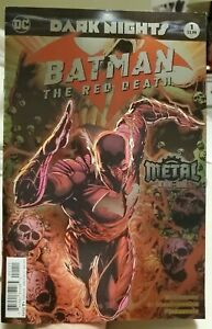 Dark Nights Batman The Red Death 1 comic VF foil