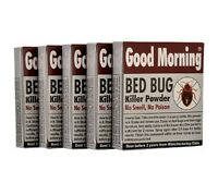 Good Morning Bed Bug Killer Powder (Pack of 5) Non-Toxic, Safe And Eco-Friendly