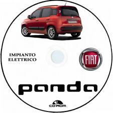 """Fiat PANDA (319) terza serie,manuale officina """"IMPIANTO ELETTRICO"""""""