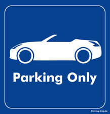 Parking Only - Nissan 370Z Roadster - Aufkleber