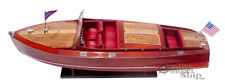 """Chris Craft Runabout 32"""" Wooden Display Model Boats"""