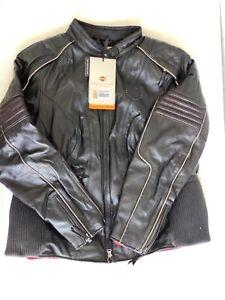Harley Davidson Women's AVA RCS Reflective Leather Jacket 97188-14VW 2XL