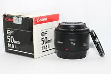 CANON EF 50mm f:1,8 II Obiettivo Standard Autofocus x Reflex EOS D DIGITALE