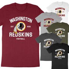 Washington Redskins Football Super Soft Cotton Tee Adult Kids Unisex T-Shirt