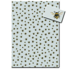 Bumble Bee Wrapping Paper * Stylish Woodland Animal Gift Wrap * Made in the UK