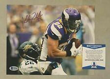 Kyle Rudolph signed Minnesota Vikings 8x10 autographed Photo BAS