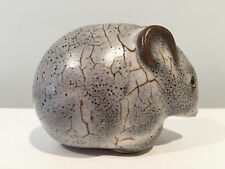 Pigeon Forge Pottery Tennessee Gray & Brown Mouse