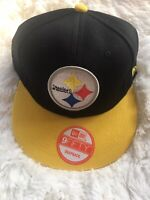 Pittsburgh Steelers New Era 9FIFTY NFL Adjustable Snapback Hat Cap 950