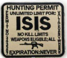 Morton Home-ISIS Hunting Permit Desert Patch