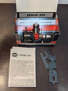 VERY RARE COX Venom .049 Model Airplane Engine #140 **Only 1000 Ever Made**