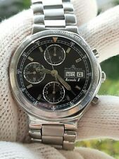 BAUME MERCIER WATCH FORMULA S CHRONOGRAPH AUTOMATIC DAY DATE MENS 40mm SWISS