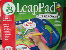LeapPad with Microphone and 2 BOOKS OUT OF PRODUCTION NEW UNOPENED