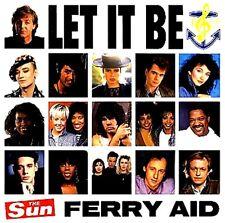 "12"" - FERRY AID - LET IT BE (PAUL Mc CARTNEY)  NUEVO - NEW, STOCK STORE LISTEN"