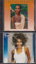 2 CD Whitney Houston 'Whitney Houston + Whitney' NUOVO saving All My Love For You