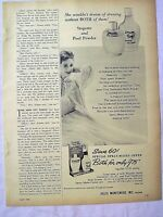 1954 Magazine Advertisement Page Stopette Deodorant Stopette Poof Vintage Ad