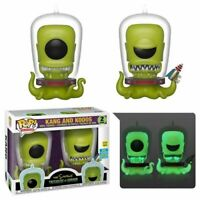 KANG & KODOS The Simpsons 2019 SDCC Exclusive Funko POP! 2 Pack NEW