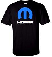 Mopar Dodge Chrysler T Shirt Hemi Ram Truck Race Mens Tee Retro Black White