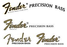 FENDER Headstock Logo  STICKER  Precision  Bass