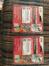 2 PACKS CVS Health ID Card manage your medical information