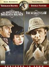 Adventures of Sherlock Holmes and The Scarlet Claw Double Feature 2009 DVD