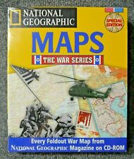 National Geographic Maps The War Series Special Edition PC CD-ROM New Sealed