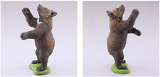 Rare Kaiyodo Museum Capsule Q Hokkaido Ussuri Brown Bear Black Grizzly Figure