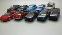 10 x Modellautos Konvolut 1:43 (DEFEKT) von Atlas/Maxichamps/Norev/Del Prado/UH
