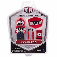 Tube Heroes 3 Inch Exploding TNT Figure With Accessory Fun Kids Toy Children