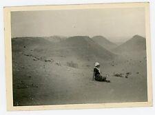 PHOTO Algérie pause dans le désert nomadisme Algérie