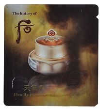 THE HISTORY OF WHOO Cheongidan Hwa Hyun Eye Cream Renewal 100ML(1mlx100ea)+Gifts