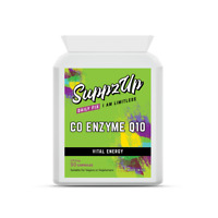 Suppzup Co-Enzyme CoQ10 100mg 90 Vegetarian Capsules Supports Energy Production