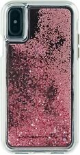 Apple iPhone X XS Case Case-Mate Waterfall Rose Gold Protective Cover - New