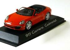 1:43 Minichamps Porsche 911 (991) Carrera 2011 red