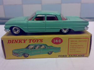 Original Vintage Dinky No 148 Ford Fairlane