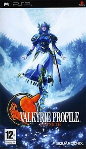 PSP Valkyrie Profile Lenneth PAL Gioco Nuovo Sigillato Playstation Portable