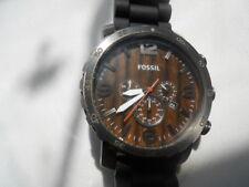 Fossil Chronograph men's dress,w-resistant,date & Analog dress watch.Jr-1355