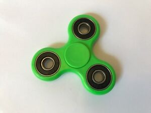 3D Fidget Hand Spinner Green Finger EDC Focus Stress Reliever Toys Kids Adults
